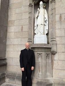 Don Boquet nella Cattedrale di San Patrizio ad Armagh, Irlanda