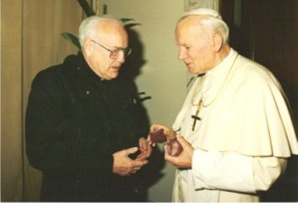 Padre Marx e Papa Giovanni Paolo II