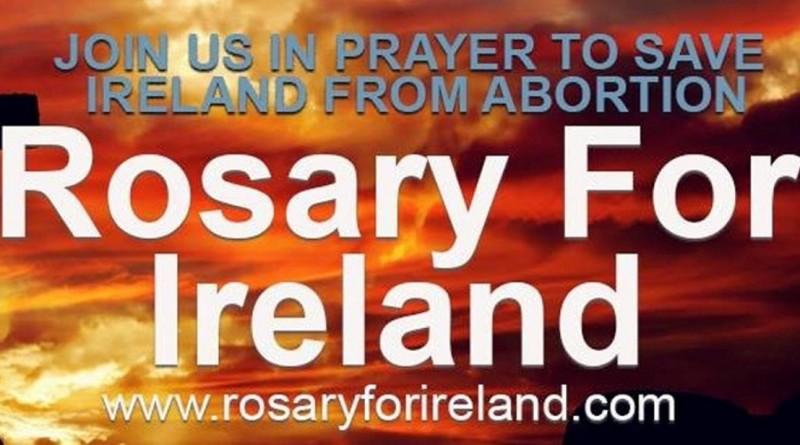 Una Novena speciale per proteggere l'Irlanda dall'aborto