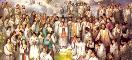 Andrea Kim è uno dei 103 martiri coreani canonizzati il 6 maggio 1984 da Giovanni Paolo II nella cattedrale di Seul