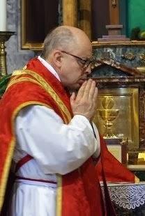 Mons. Ignacio Barreiro Carámbula durante la celebrazione della S. Messa