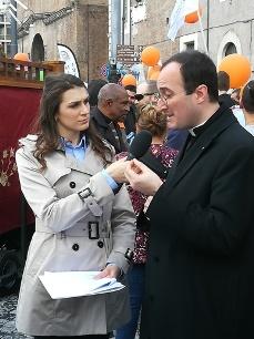 Don Francesco Giordano intervistato da EWTN