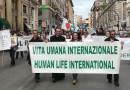 Vita Umana Internazionale alla Marcia per la Vita