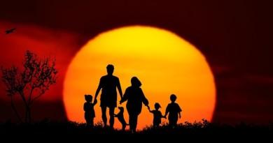 Le benedizioni di bambini normali