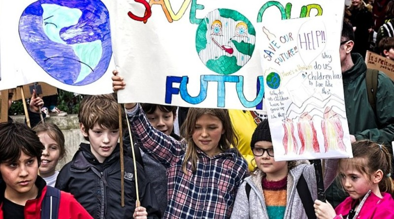 Photos taken at the Global Climate Strike in London on Friday 15th March 2019.