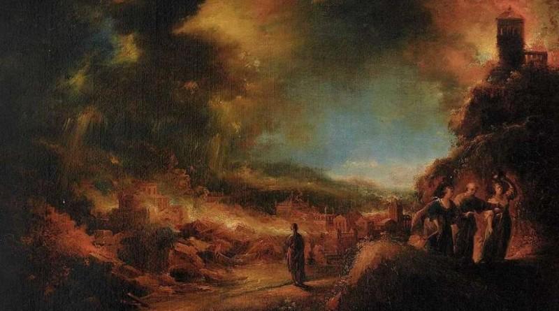 Dove molti hanno paura di avventurarsi un solo pastore ha il coraggio di andare - Trautmann - Distruzione Sodoma